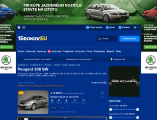 peugeot-308-sw.autobazar.eu screenshot
