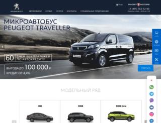 peugeot-favorit.ru screenshot