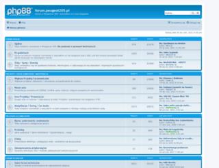 peugeot205.pl screenshot