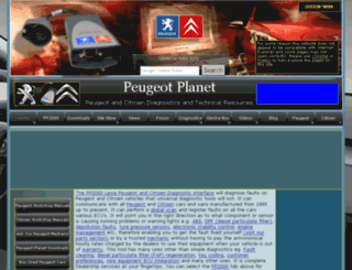 peugeotplanet.webplus.net screenshot