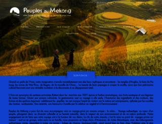 peuplesdumekong.com screenshot