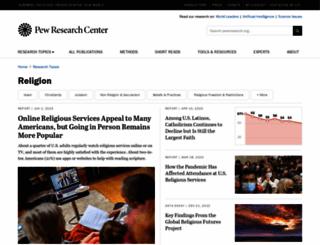 pewforum.org screenshot