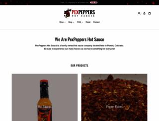 pexpeppers.com screenshot