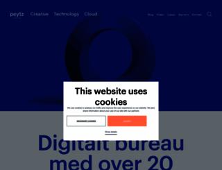 peytz.dk screenshot