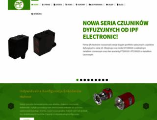pf-electronic.pl screenshot