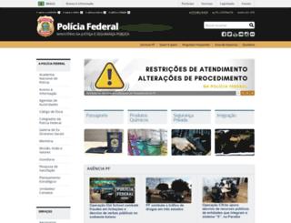 pf.gov.br screenshot