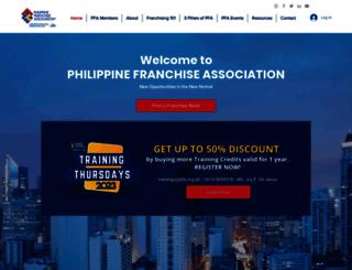 pfa.org.ph screenshot