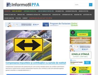 pfa.whd.ro screenshot
