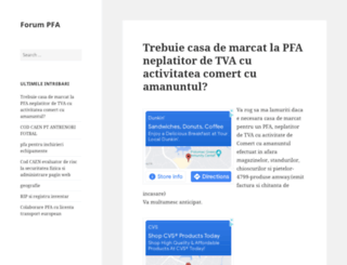 pfa.wikiteam.ro screenshot