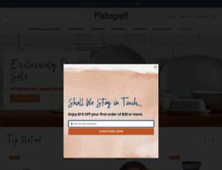 pfaltzgraff.com screenshot