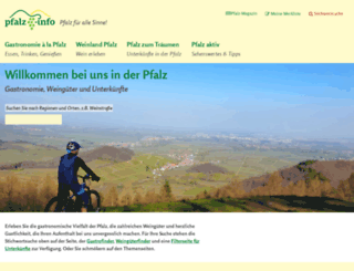 pfalz-info.com screenshot