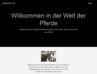 pferdeinfos.com screenshot