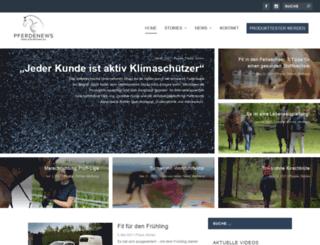 pferdenews.eu screenshot