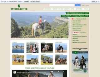 pferdreiter.de screenshot