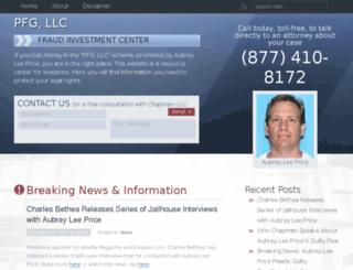 pfgfraud.com screenshot