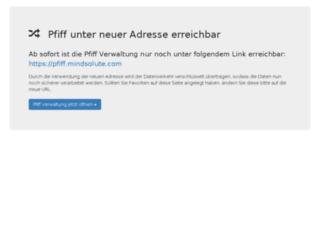 pfiff.mindsolute.de screenshot