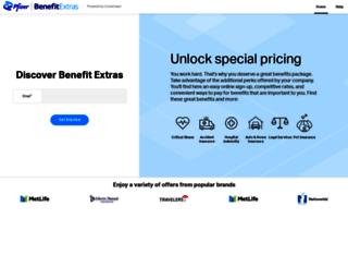 pfizer.corestream.com screenshot