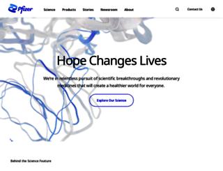 pfizercareers.com screenshot