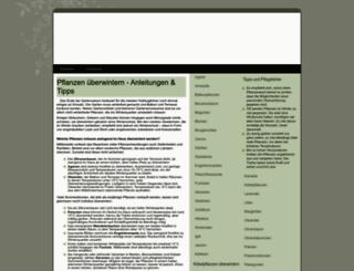 pflanzen-ueberwintern.net screenshot