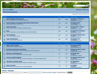 pflanzenbestimmung.de screenshot