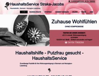 pflege-haushaltsservice.de screenshot