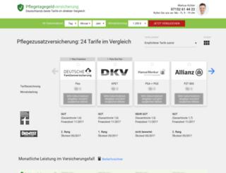 pflege.leosolutions.de screenshot