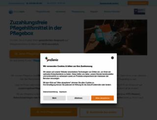pflegebox.de screenshot