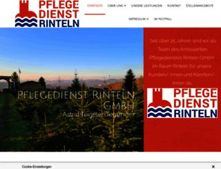 pflegedienst-rinteln-gmbh.de screenshot