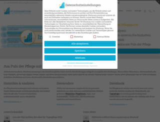 pflegemarkt.com screenshot