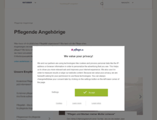 pflegeverantwortung.de screenshot
