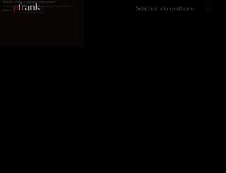 pfrankmd.com screenshot