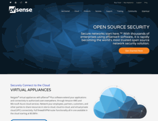 pfsense.org screenshot