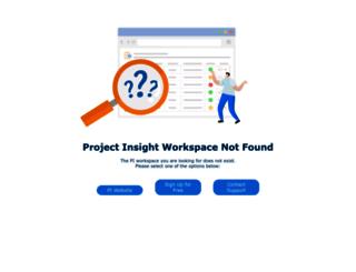 pfsweb.projectinsight.net screenshot