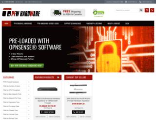 pfwhardware.com screenshot