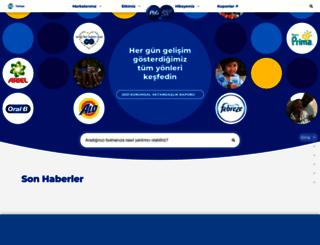 pg.com.tr screenshot