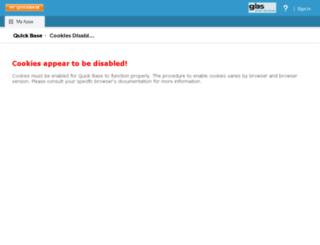 pg.quickbase.com screenshot