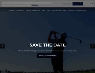 pgashow.com screenshot