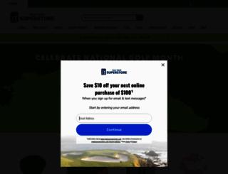 pgatoursuperstore.com screenshot