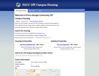 pgcc.openoffcampus.com screenshot