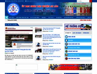 pgdanlao.edu.vn screenshot