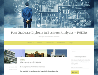 pgdbablog.wordpress.com screenshot
