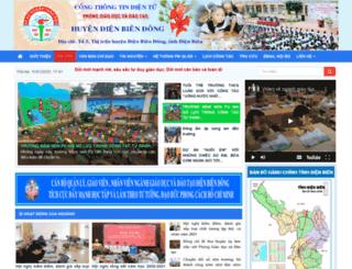 pgddienbiendong.edu.vn screenshot