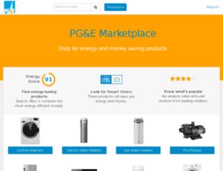 pge.enervee.com screenshot