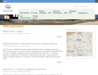 pgegiek.eu screenshot