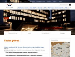 pgegiek.pl screenshot
