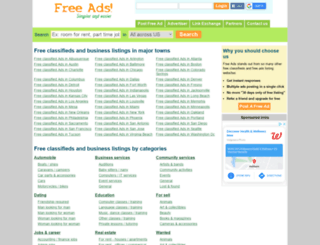pgfreeads.com screenshot