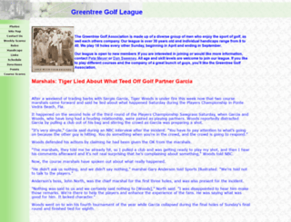 pghgolfers.com screenshot