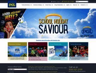 pgl.co.uk screenshot