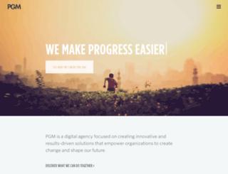 pgmny.com screenshot