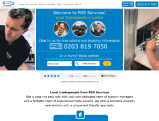 pgs-online.co.uk screenshot
